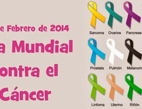 Cartel Día Mundial Contra el Cáncer 2014