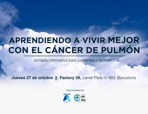 Jornada Aprendiendo a vivir mejor con el cáncer de pulmón