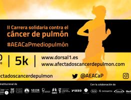 Carrera solidaria contra el cáncer de pulmón