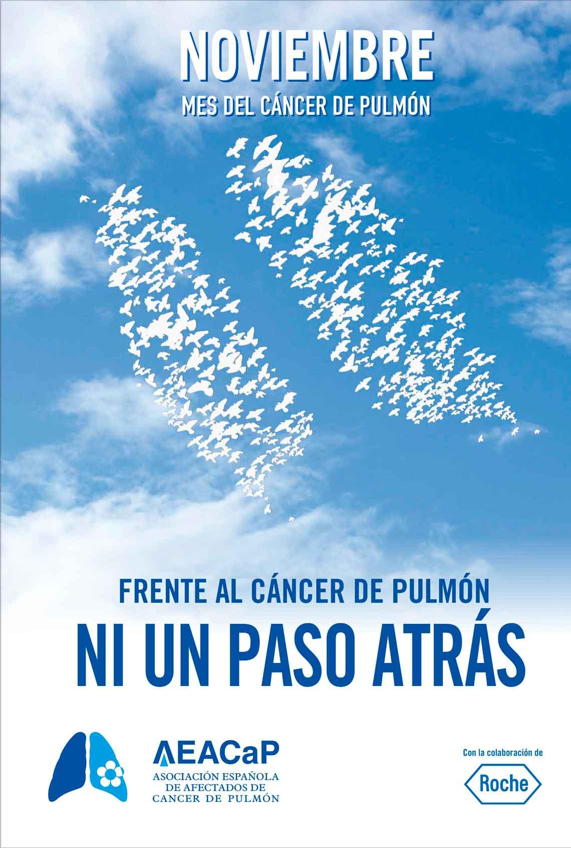 Frente al cáncer de pulmón, ni un paso atrás