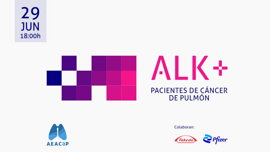 AEACaP - Seminario web 'Pacientes de cáncer de pulmón ALK'