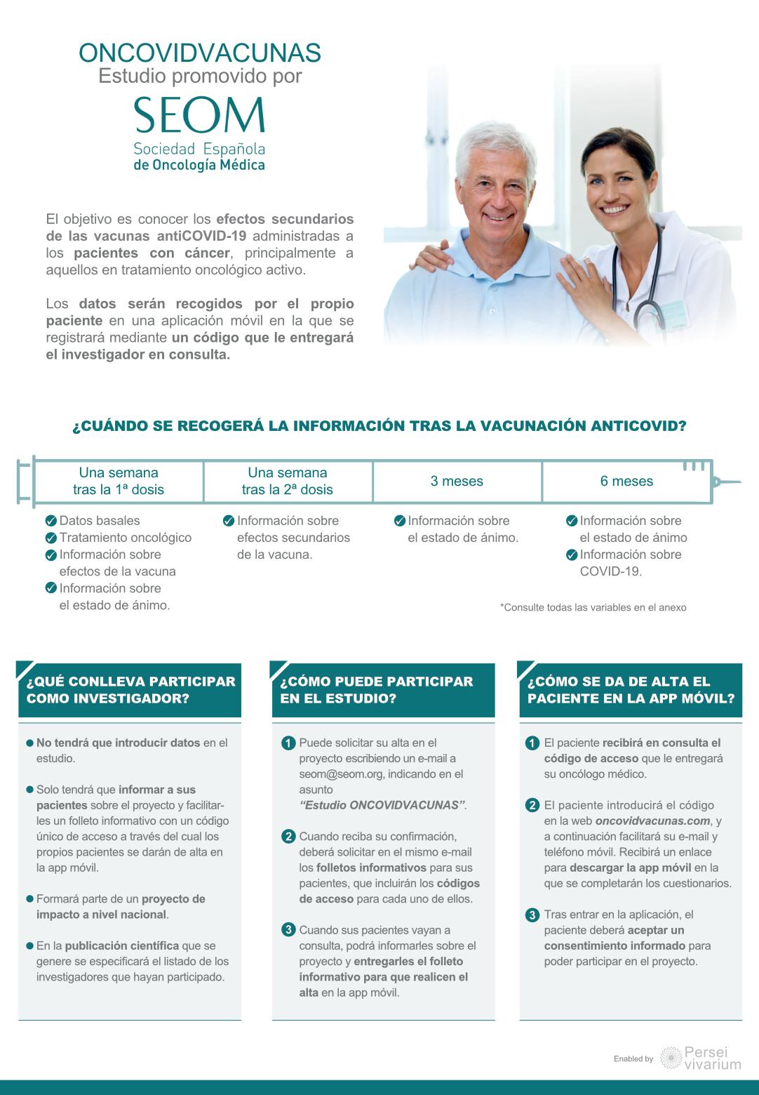 SEOM Oncovidvacunas folleto investigadores