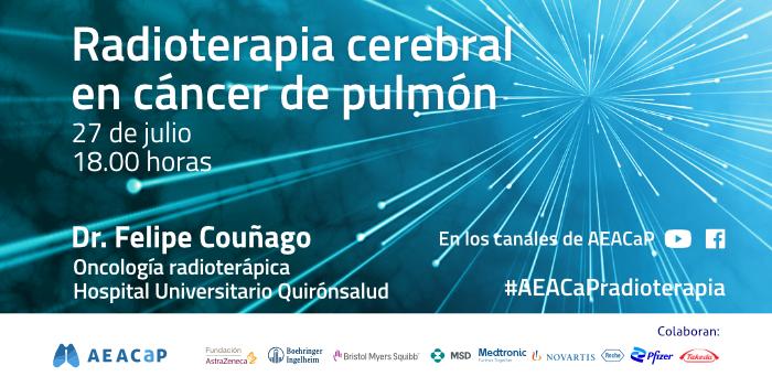 EACaP Seminario online 'Radioterapia cerebral en cáncer de pulmón'