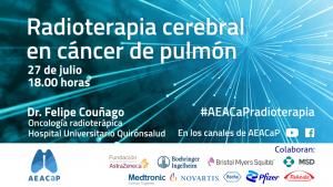 Aeacap - Seminario web 'Radioterapia cerebral en cáncer de pulmón'