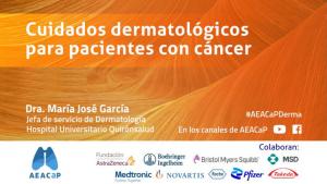 Aeacap - Cuidados dermatológicos en pacientes con cáncer