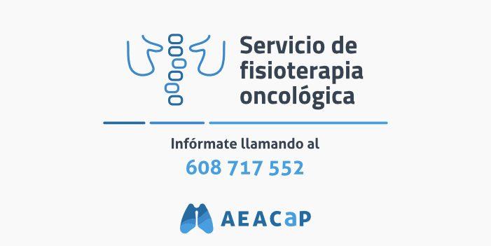 Servicio de fisioterapia oncológica